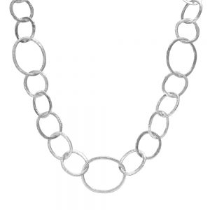 Millie silver chain necklace