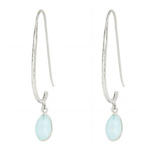 Alexa Aqua Earrings