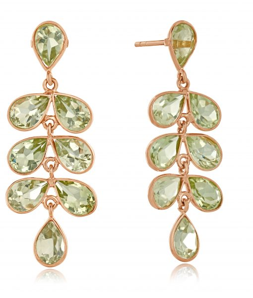 Cara Cascade earrings