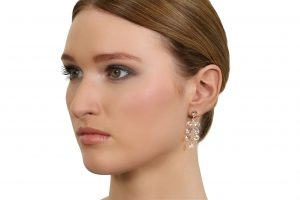 Gorgeous Green Amethyst Cara Cascade Earrings