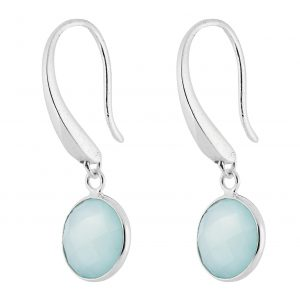 Sophie Aqua Earrings