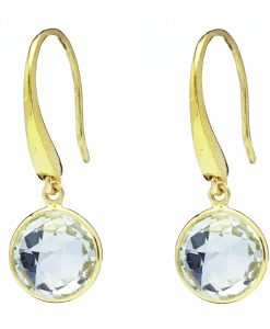 Sophie Green Amethyst Earrings