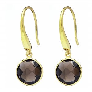 Sophie Smokey Quartz Earrings