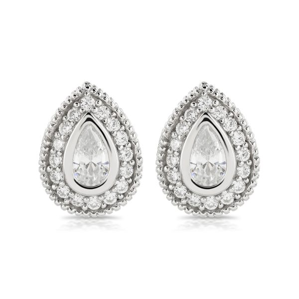 Vintage-look Cubic Zirconia Tasia Earrings