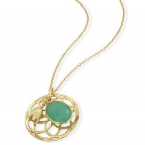 Aqua Sunshine necklace