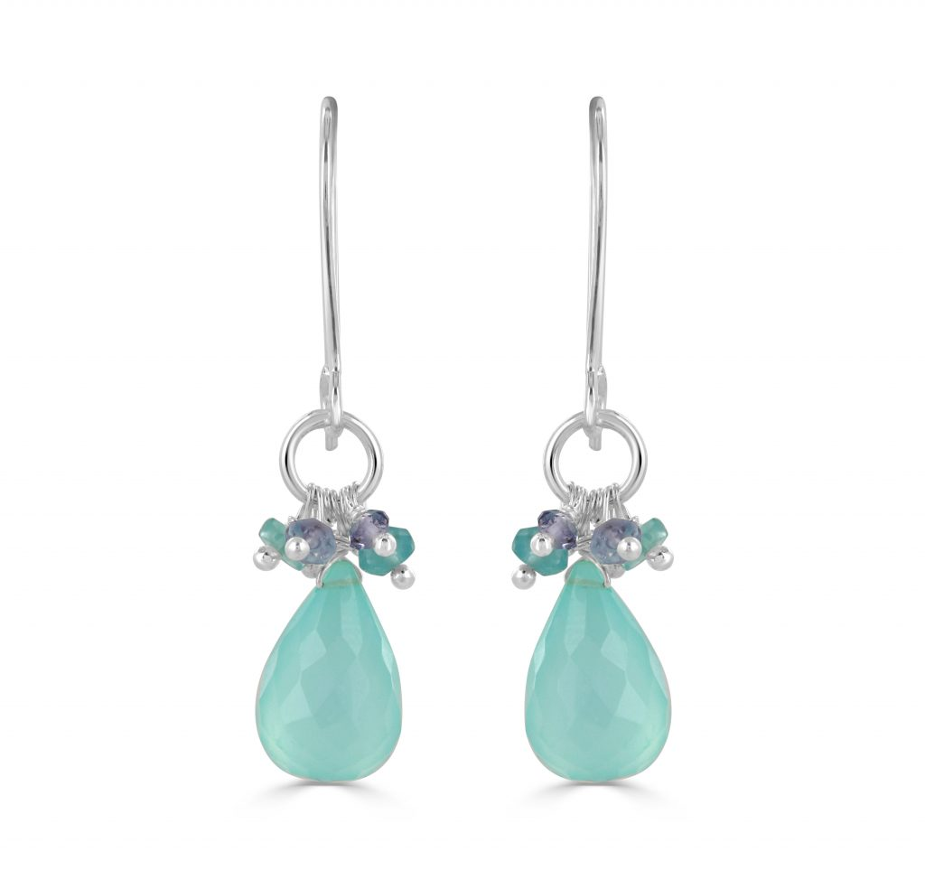 Iona Chalcedony Earrings