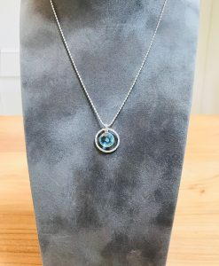 Suzie blue necklace