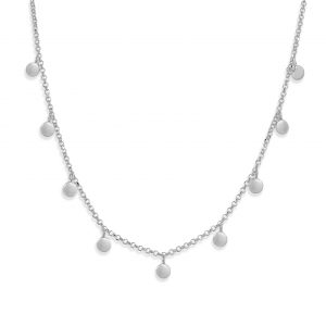 Silver Tilly necklace