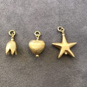 Flutterby gold plated charms