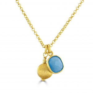 Blue Letty Necklace