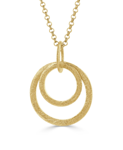 Gold cira necklace 2