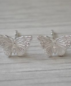 Large Butterfly Studs