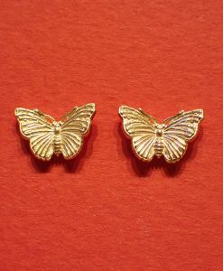 Gold Butterfly studs