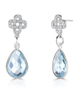 Blue Topaz Charlotte Earrings