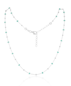 Josie Silver Turquoise Necklace