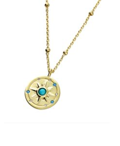 Astrid Gold Pendant Necklace